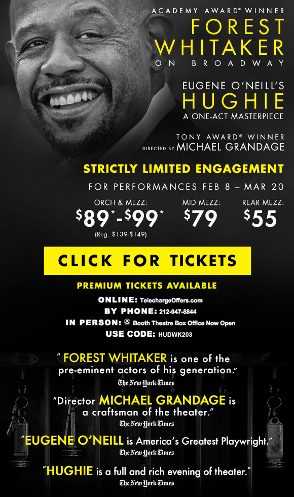 Hughie - Tickets from $55